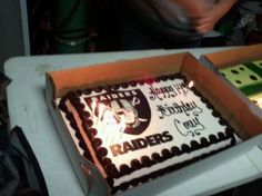 Raiders cake | Inspiring Ideas