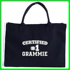 Certified #1 Grammie Mothers Day - Tote Bag - Top handle bags (*Amazon Partner-Link)