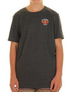 Inseption - Element- Mens - Amid Tee - Charcoal Marle