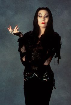 'Morticia' as played by Anjelica Huston.