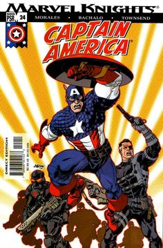 Captain America Vol. 4 # 24 by Dave Johnson