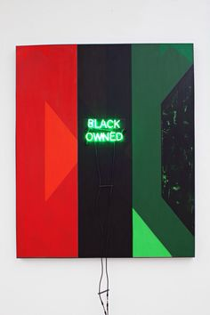 Artist: Kerry James Marshall Venue: Secession, Vienna Exhibition Title: Who's Afraid of Red, Black and Green