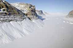 Unnamed Glacial Canyon, Northern Greenland