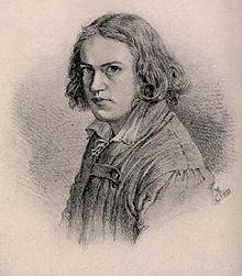 Adolph von Menzel – Selbstporträt, 1834