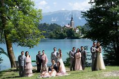 Photographer: UTB Photography  | Event Venue: Bled Castle | Event Planner: Da Petra | Bridal Designer: Jocelyn Dungca | Submitted via Two Bright Lights Wedding Locations, Wedding Venues, Bridesmaid Dresses, Wedding Dresses, Bridesmaids, Mom And Sister, Strictly Weddings, Church Wedding, Destination Weddings