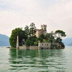 Loreto Island, Lake Iseo, Lombardy region Italy