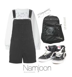 """Back to School / BTS"" by youaremorethanbeautiful ❤ liked on Polyvore featuring Ashish, Topshop, Vans and Maison Margiela"