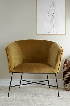 Tub Chair, Hygge, Beautiful Homes, Charleston, Accent Chairs, Interior Design, Inspiration, Furniture, Home Decor