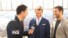 Time After Time's Freddie Stroma and Josh Bowman Atop the Empire State B...