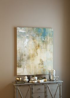 Where to buy abstract paintings? Find abstract paintings, abstract canvas art, and modern wall art for the perfect piece to accent your home decor. Diy Wall Art, Diy Art, Modern Art, Contemporary Art, Art Abstrait, Ballard Designs, Abstract Canvas, Canvas Artwork, Diy Canvas