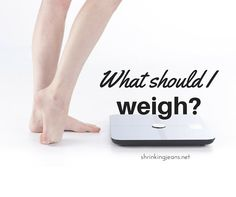 What Should I Weigh?