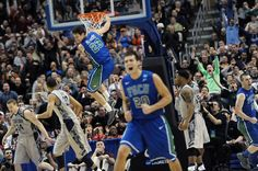 finest selection aa1bc c3ee5 The Florida Gulf Coast Eagles Dunk City  FGCU  MarchMadness  Nike  Sweet16