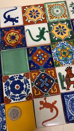 Фасадные Плитки, Художественная Керамическая Плитка, Мексиканская Керамика, Марокканское Искусство, Творческий Декор, Марокканская Плитка, Домашний Декор В Стиле Ретро, Горячие Подушечки