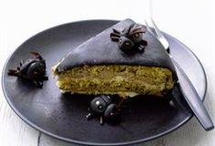 ❤ Salmiakki-lakritsitäytekakku ❤ Finnish licorice cake.