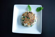 Salmon Patties | I might sub spinach instead of parsley and used fresh salmon, not canned.