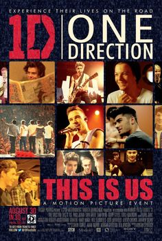 One Direction This Is Us movie poster