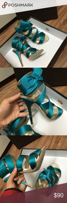 HP 12/18🎉🎈 Bebe Sexy High Heels Exclusive and a nice design from Bebe NWT bebe Shoes Heels