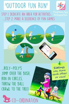 A fun & easy early learning game for young siblings to play together at home or outdoors! If you feel inspired by these kids games, have a look at our PlayMama App for ages 0-1years, 1-2years and 2-4 years - Tailored to Age, Place, Mood & Tracks 7 key skills! BeHappyMum.com