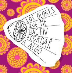 Los olores que me hacen acordar a algo - Disfruta Las Cosas Pequeñas - Gloria Garcia Mata