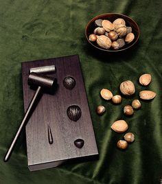 We're nuts about nuts, so Hermès' natty new nutcracker is right up our street. #wallpaperdesignawards