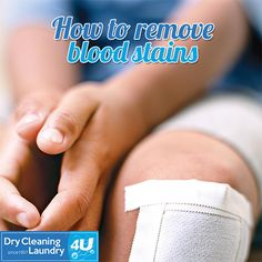 How to remove blood stains - Soak the garment in a bucket of cold, salted water (we recommend one or two tablespoons of salt for every litre of water) for several hours before washing as usual. Make sure the entire blood stain is out before washing your garment with hot water otherwise you risk setting it into the fabric.