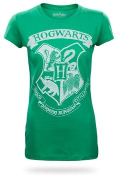Harry Potter Hogwarts Logo Babydoll i-m-afraid-so-you-re-entirely-bonkers-but-i-ll-tel Harry Potter Outfits, Harry Potter Love, Harry Potter Hogwarts, Hogwarts T Shirt, Hogwarts Crest, Logo Inspiration, Mischief Managed, Dobby, Geek Chic