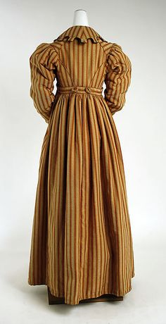 Pelisse early 1820's European silk the Met Accession Number: C.I.52.36