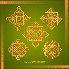symboles asiatiques
