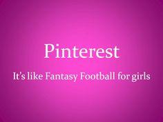 Share Alike Cooking!: Pinterest... It's like Fantasy Football for girls!