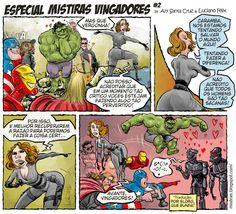 Os Vingadores são safadinhos!