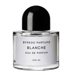 Blanche Byredo for women  musk, aldehydes, peony, violet, orange flower, woods, sandalwood, pink pepper, rose