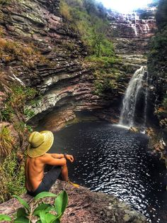 Cachoeira do Sossego, Chapada Diamantina, Bahia Most Romantic Places, Beautiful Places To Visit, Beautiful World, Camping Activities, Travel Goals, Hotels And Resorts, The Great Outdoors, Travel Photos, Places To Go