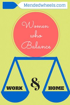 Are you a woman who works in and out of the home?  It's a tough balance!  We need to stick together!