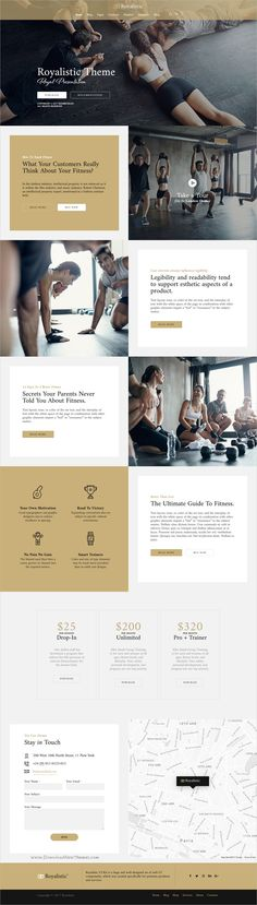 Royalistic is creative and luxury style multipurpose #WordPress theme for #gym #fitness studio stunning website with 25+ niche homepage layouts download now➩ https://themeforest.net/item/royalistic-creative-multipurpose-wordpress-theme/19567791?ref=Datasata