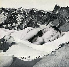 Sammy Slabbinck combina publicidad de los 50, imágenes históricas y estilos contemporáneos de composición. Conoce su impactante obra.