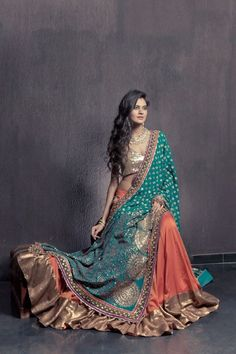 Shyamal and Bhumika- Love the rich colours...
