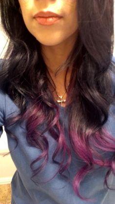 Dip dye ~ Lusty Lavender ~ Purple tips