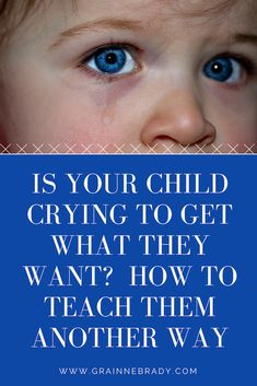 Your child has learned crying gets everything. To stop them crying to get what they want you have to teach them to use their words to ask for what they want Conscious Parenting, Mindful Parenting, Peaceful Parenting, Gentle Parenting, Parenting Advice, Stop Whining, Your Child, Sentences, Behavior