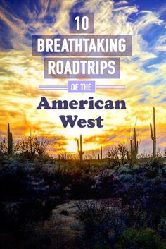 Looking for road trips in the American West? Whether its a short weekend trip or weeks of travel, here are the top 10 ways to experience all the magic of the wild western half of the USA. Us Road Trip, Road Trip Hacks, Empire State Building, Monument Valley, Places To Travel, Places To Visit, Vacation Places, Vacation Spots, Vacation Ideas