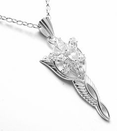 Official Lord of the Rings Arwen Evenstar pendant... I dropped a few hints to my husbot! $229...