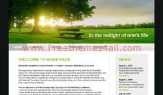 CSS Templates - Green Nature Website Template #css #nature #csstemplates