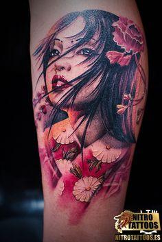 tatuajes geishas - Buscar con Google