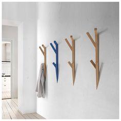 Perchero Tree Hook de Mobles Nacher. Complementos para hogar de diseño. Percheros pared. En Mueblesllesma.com