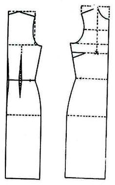 Como hacer un vestido Largo ofi