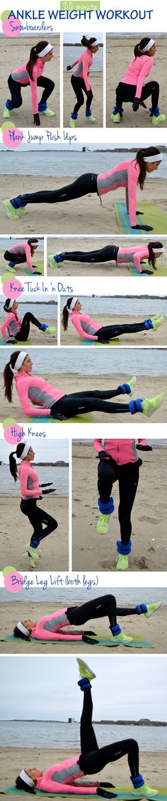 20 Minute Ankle Weight Workout.