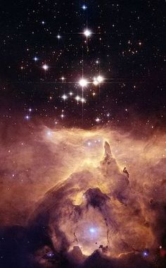 This nebula (NGC 6357) in the constellation Scorpius was given the name War and Peace Nebula.