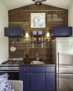 tiny house kitchens. this tiny house breaks a major decorating rule kitchens l