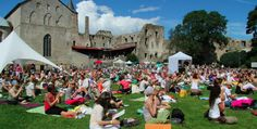 Summer Yoga Festing: A Guide to Yoga Festivals by Gather