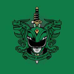 A Mighty Morphin Power Rangers t-shirt by PrimePremne. Latin Green Ranger and… Power Rangers T Shirt, Go Go Power Rangers, Mighty Morphin Power Rangers, Power Ranger Verde, Green Power Ranger, Kamen Rider, Desenho Do Power Rangers, Live Action, Pawer Rangers