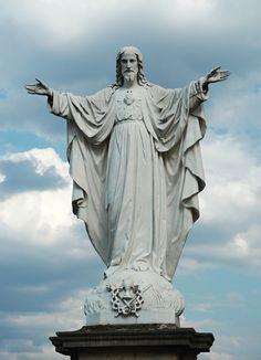 Pictures Of Jesus Christ, Religious Pictures, Jesus Christ Statue, Image Jesus, Catholic Art, Jesus On The Cross, Sacred Art, Kirchen, Christian Art
